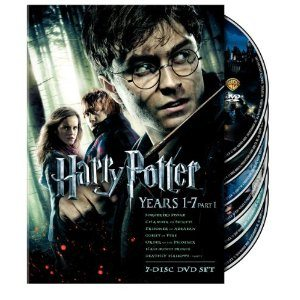 Harry Potter Years 1-7 Part 1 Gift Set $46.99