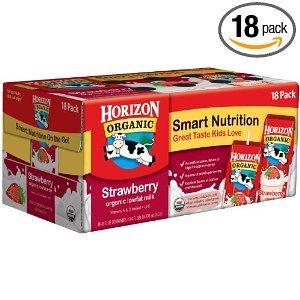 Horizon Organic Low Fat Strawberry Milk