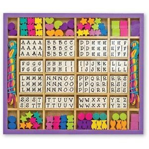 melissa and doug wooden stringing beads