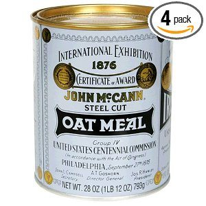McCANN'S Steel Cut Irish Oatmeal 28-Ounce Tins (4 pk.)