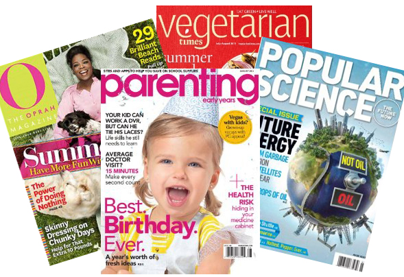 magazine deals at amazon