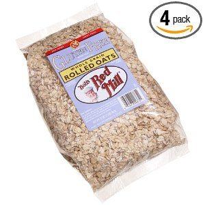 Bob's Red Mill Gluten Free Whole Grain, Rolled Oats