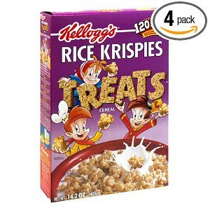 Rice Krispies Treats Rice Cereal, 14.2-Ounce Boxes