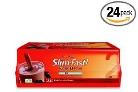 Slim-Fast 3-2-1 Plan, Ready To DrinkShake, Rich Chocolate Royale, 11-Ounce Cans