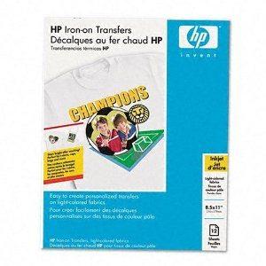 HP Iron On Transfers