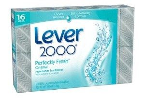Lever 2000 Moisturizing Bar, Original, 4-Ounce Bars in 16-Count Packages (Pack of 2)