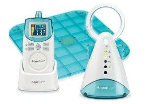 Angelcare Baby Movement and Sound Monitor, Blue