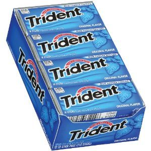 Trident Gum, Original Flavor, 18-Stick Packs (Pack of 12)