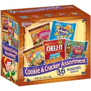 Keebler Cookie & Cracker Assortment, 36-Count Pouches