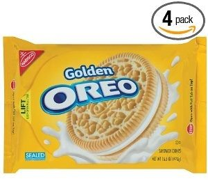Oreo Chocolate Creme Golden Oreo Cookie, 16.6-Ounce Packages (Pack of 4)