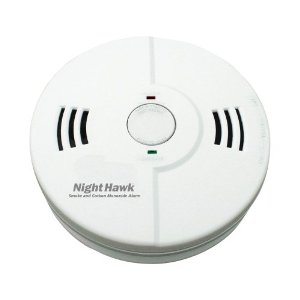 Kidde Nighthawk Carbon Monoxide, Fire and Smoke Alarm with Voice Alert