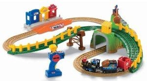 Fisher-Price GeoTrax Transportation System Remote Control Timbertown Railway