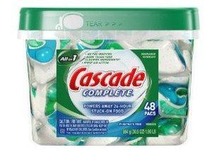 Cascade Complete All in 1 Pacs, Phosphate Free, 48-Count Container