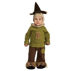 Wizard of Oz Toddler Scarecrow Costume Romper