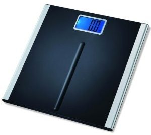"EatSmart Precision Premium Digital Bathroom Scale with 3.5"" LCD and ""Step-On"" Technology"