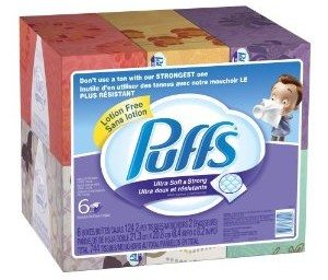 Puffs Ultra Soft and Strong Facial Tissues, Family Boxes, 744-Count (Packaging May Vary)