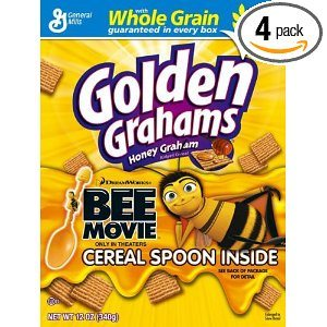 Golden Grahams, 12-Ounce Boxes (Pack of 4)