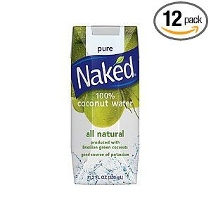 Naked 100% Naked Coconut Water, 11.2-Ounce Boxes