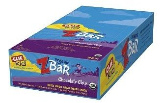 Clif Kid ZBar, Chocolate Chip, (Pack of 18)