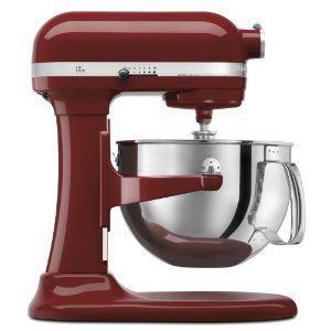 KitchenAid KP26M1PGC Professional 600 Series 6-Quart Stand Mixer, Cinnamon Gloss