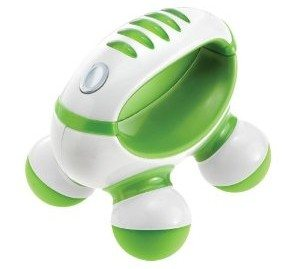 Homedics PM-50  Hand Held Mini Massager with Hand Grip, Battery Operated (Colors May Vary)