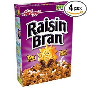 Kellogg's Raisin Bran Cereal, 20-Ounce Boxes