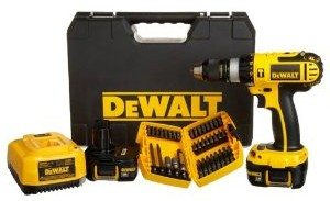 DEWALT DCD775KL-A 1/2-Inch 18-Volt Compact Lithium-Ion Hammer-Drill Kit with Accessory Set