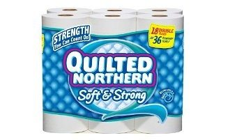Quilted Northern Soft and Strong Double Roll