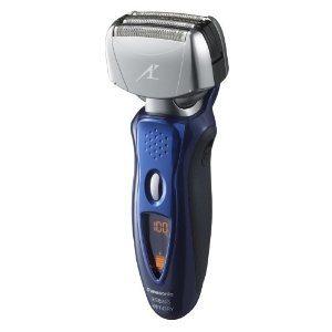 Panasonic ES8243A Men's 4-Blade (Arc 4) Wet/Dry Rechargeable Electric Shaver with Nanotech Blades, Blue