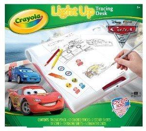 Crayola Cars 2 Light Up Tracing Desk