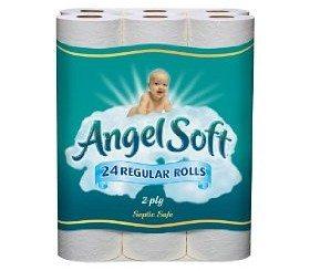 Angel Soft Bath Tissue Regular Roll Deal