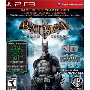 Batman Arkham Asylum: Game of the Year Deal