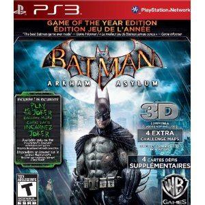 Batman Arkham Asylum: Game of the Year Deal