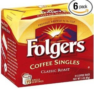 Folgers Classic Roast Coffee Singles Deal