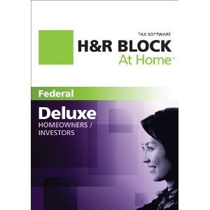 H&R Block At Home 2011 Deal