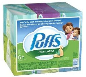 Puffs Plus Lotion Facial Tissues Deal