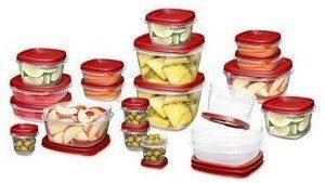 Rubbermaid Easy Find Lid Food Storage Set Deal