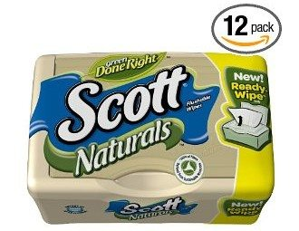 Scott Naturals Folded Moist Wipes Deal