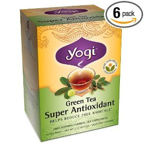 Yogi Green Tea Super Antioxidant, Herbal Tea Supplement Deal