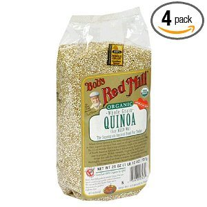 Bob's Red Mill Organic Grain Quinoa, 26-Ounce Packages (Pack of 4) Deal