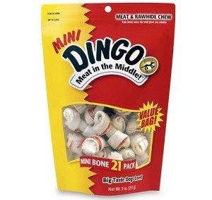 Dingo Mini Bones 21-Pack Value Bag, 9-Ounce Deal