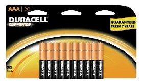 Duracell Coppertop Batteries Deal