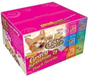 Friskies Gravy Sensations Pouch Favorites, 6-Flavor Variety Pack Deal