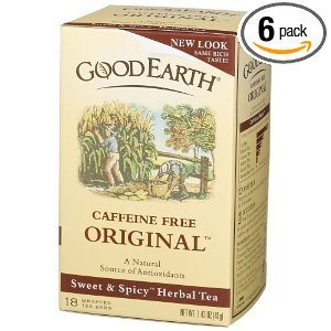 Good Earth Original Sweet & Spicy Caffeine Free Tea Bags Deal