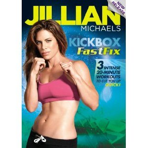 Jillian Michaels Kickbox FastFix on DVD Deal