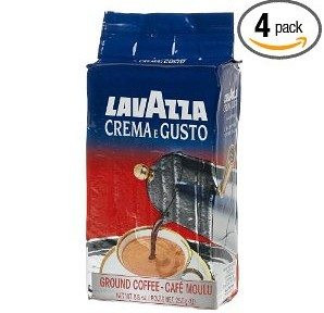 Lavazza Crema e Gusto Ground Coffee, Italian , 8.8-Ounce Bricks (Pack of 4) Deal