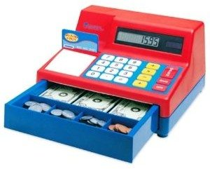 Learning Resources Pretend and Play Calculator Cash Register Deal