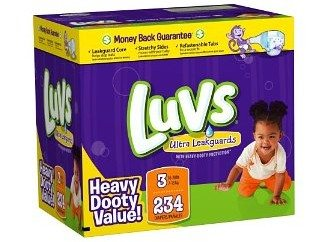 Luvs Ultra Leakguards Diapers Deal