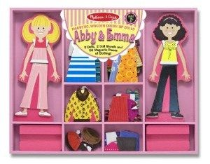 Melissa & Doug Abby & Emma Deluxe Magnetic Dress-Up Set Deal
