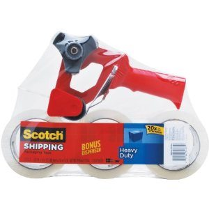 Scotch Heavy Duty Shipping Packaging Tape  Deal